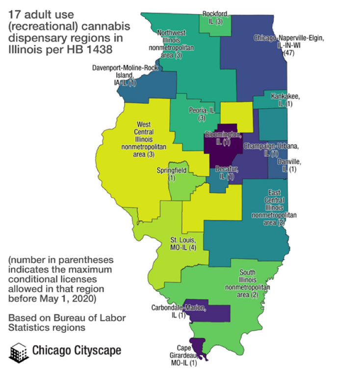 Illinois Recreational Licensing Process